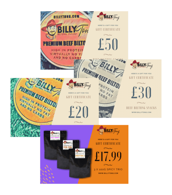 Gift Cards with Billy Tong