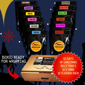12 Days Of Christmas Biltong Gift Box